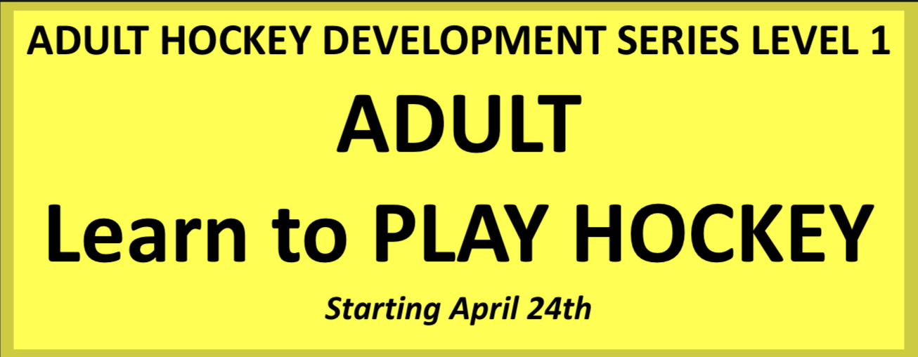 Adult Hockey Development Series Level 1 - Adult Learn to Play Hockey