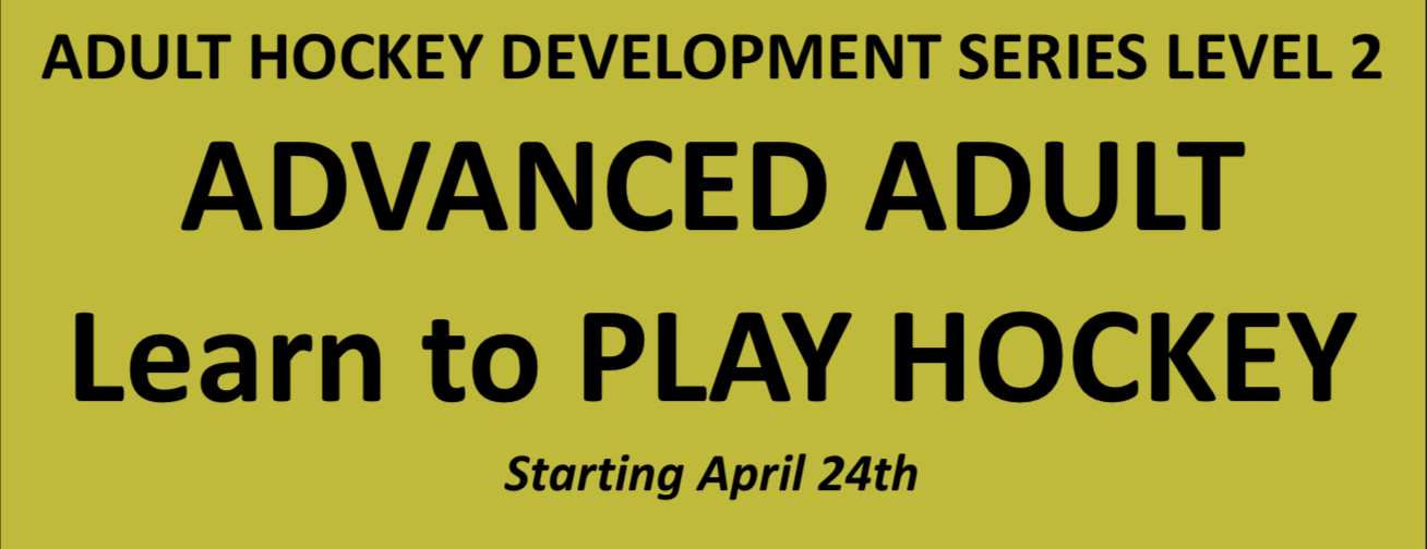Adult Hockey Development Series Level 2 - Advanced Adult Learn to Play Hockey